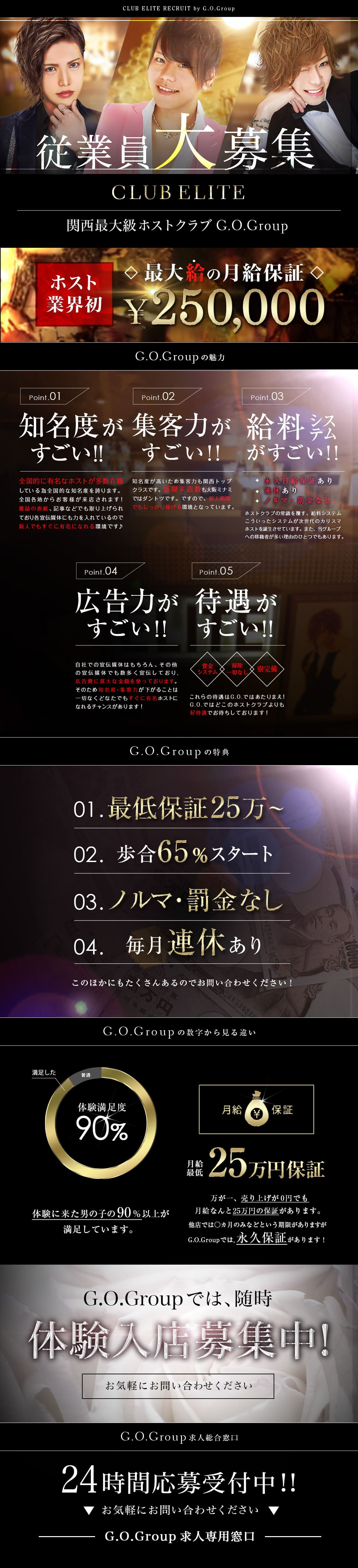 ELITE G.O.Group|求人